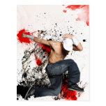 Fighter Hip hop to dancer Postcards