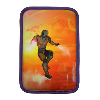 Fighter in the sunset iPad mini sleeves