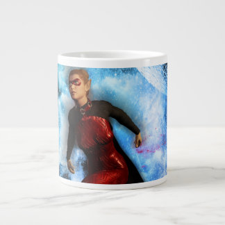 Fighter in the universe 20 oz large ceramic coffee mug