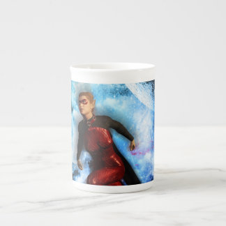 Fighter in the universe tea cup