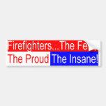 fighter insane bumper sticker