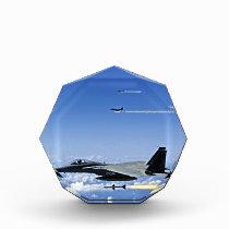 Fighter Jet Acrylic Award