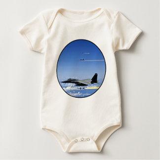 Fighter Jet Baby Bodysuit