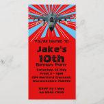 "Fighter Jet Birthday Party Invitation<br><div class=""desc"">Fighter Jet birthday party invitation.</div>"