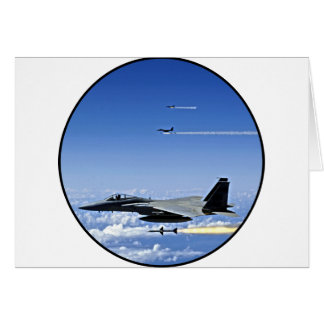 Fighter Jet Card