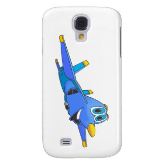 fighter Jet Cartoon Samsung Galaxy S4 Cover