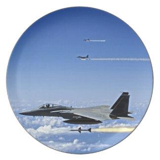 Fighter Jet Dinner Plate