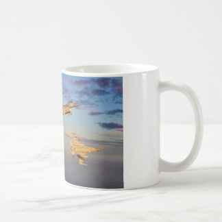 FIGHTER JET FLARES COFFEE MUG