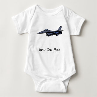 Fighter Jet Flying Baby Bodysuit