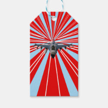 Airplane Gift Tags & Gift Enclosures | Zazzle