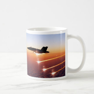 FIGHTER JET HOT FLARES COFFEE MUG