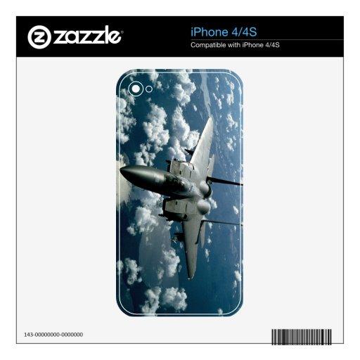 Fighter Jet iPhone 4S Decals