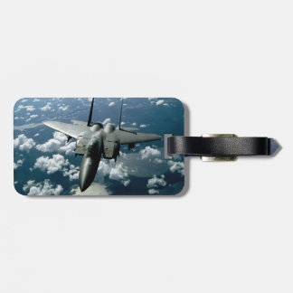 Fighter Jet Luggage Tag