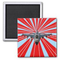 Fighter Jet Magnet