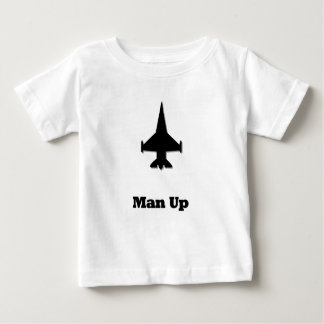 Fighter Jet Man Up Baby T-Shirt