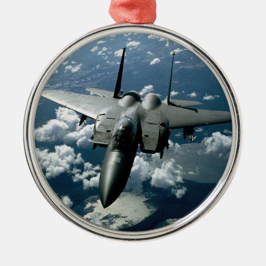 Fighter Jet Metal Ornament