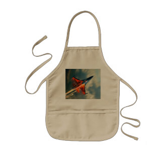 Fighter Jet Military airplane speed Kids' Apron