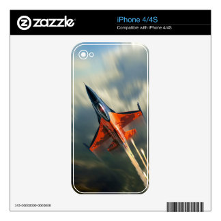 Fighter Jet Military airplane speed iPhone 4 Skins