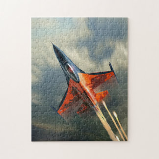 Fighter Jet Military airplane speed Jigsaw Puzzle