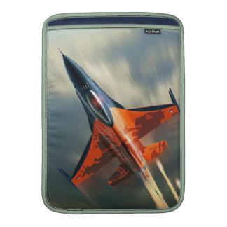 Fighter Jet Military airplane speed MacBook Sleeves