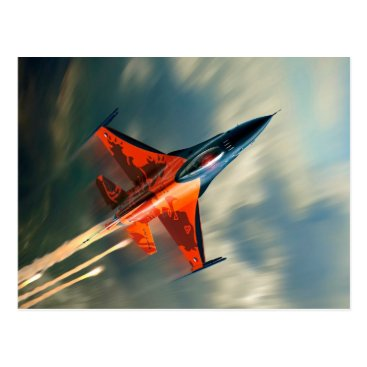 jurassic_world Fighter Jet Military airplane speed Postcard