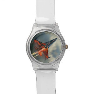 Fighter Jet Military airplane speed Wristwatches