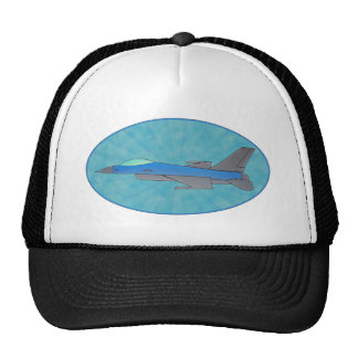 Fighter Jet Military Plane Design Hat