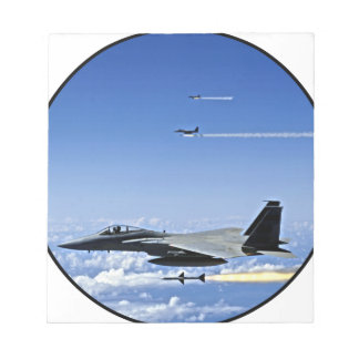 Fighter Jet Note Pad