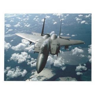 Fighter Jet Notepad