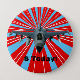 Fighter Jet Pinback Button