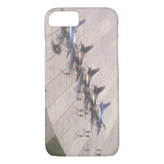 Fighter jets on ramp ready_Military Aircraft iPhone 7 Case