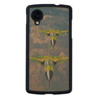 FIGHTER JETS CARVED® MAPLE NEXUS 5 CASE