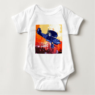 Fighter Meow Baby Bodysuit
