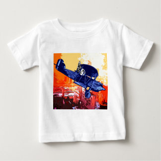 Fighter Meow Baby T-Shirt