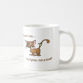 Fighter Not Lover Mugs