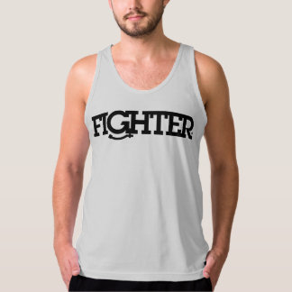 FIGHTER: PICK UP YOUR MOUTHPIECE TANK TOP