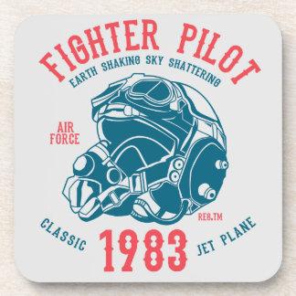 Fighter Pilot Classic Jet Plane Coaster