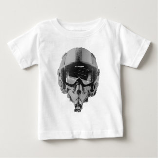 Fighter Pilot Helmet and Altimeter Baby T-Shirt