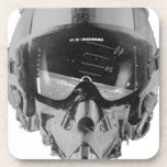 Fighter Pilot Helmet and Altimeter Coasters