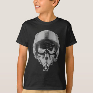 Fighter Pilot Helmet and Altimeter T-Shirt