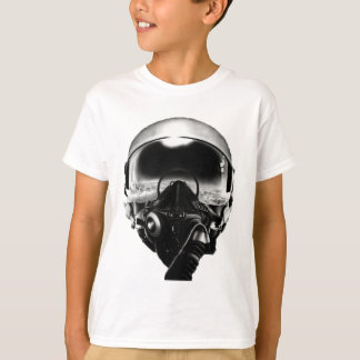 Fighter Pilot Helmet T-Shirt