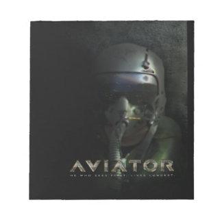 Fighter Pilot Hud Helmet Notepad
