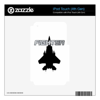 Fighter Pilot iPod Touch 4G Skin