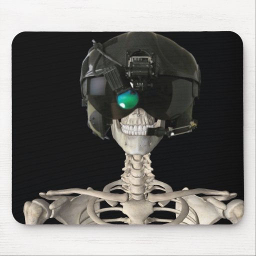 Fighter Pilot Mouse Pad