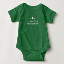 Fighter Pilot Spawn F-16 Funny Baby Baby Bodysuit