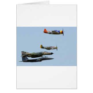 Fighter Plane design 1 Card