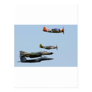 Fighter Plane design 1 Post Card