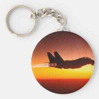 Fighter plane keychains