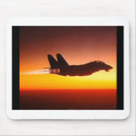 Fighter plane mousepad