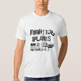 Fighter Planes  Russian LA-5 military t-shirt